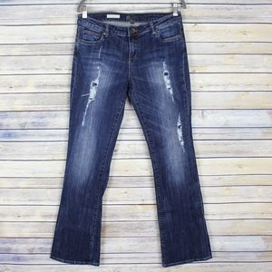 Kut From The Kloth Farrah Baby Bootcut Jeans 6